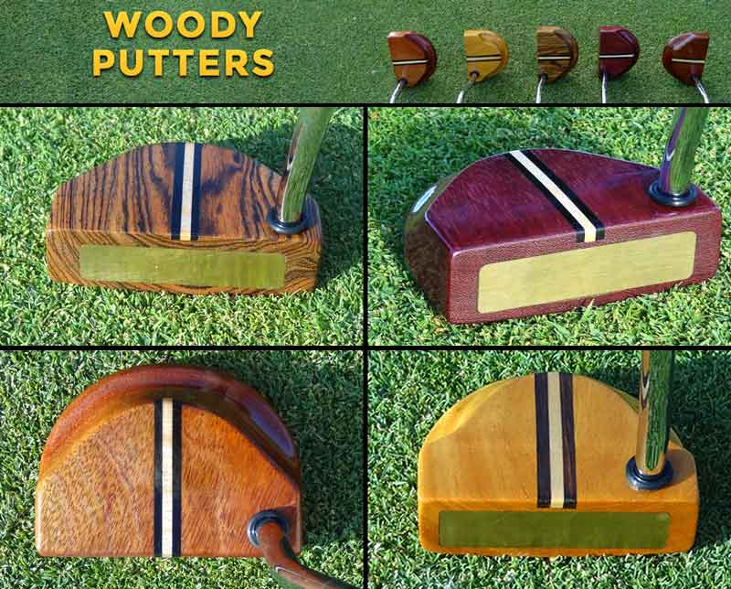 Wood Putters Artisan Crafted