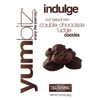 Yumbitz Indulge Double Chocolate Fudge Cookies