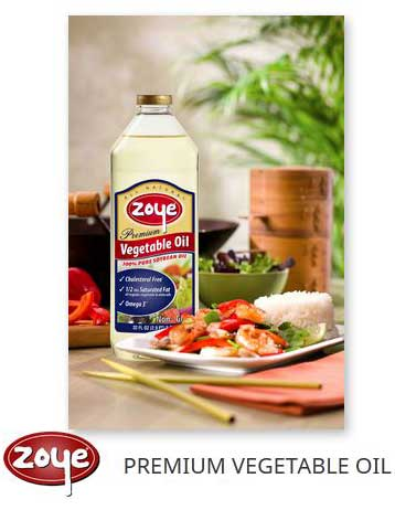 Zoye Premium Vegetable Oil