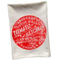 Vintage Graphic Anderson's Ketchup Towel