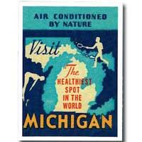 Visit Michigan Sticker