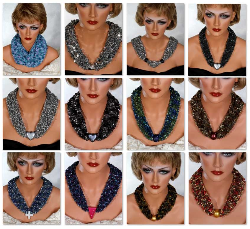 Buy Scarf Necklaces Here