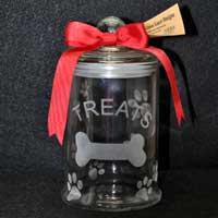 Dog Treat Jar