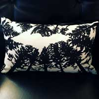 UP Michigan Tree Tops Pillow