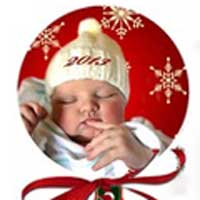 Personalized Aluminum Photo Ornaments