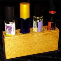 Essential Oil Roller Ball Rack