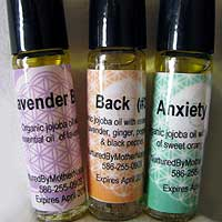 Roll-on Organic Aromatherapy with Essential Oil