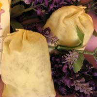 Organic Lavender Bath Bags