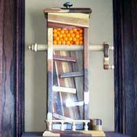 Butcher Block Gumball Machine