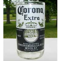 Corona Bomber Pint Beer Bottle Glass Tumbler