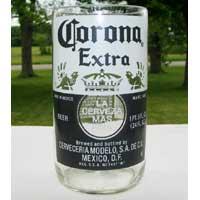 Corona Bomber Pint Beer Bottle Glass Tumbler