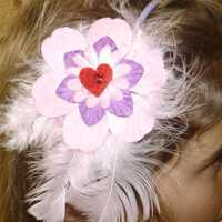 Child Feather Hair Bands