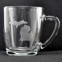 Engraved Mug - Michigan