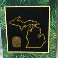 Petoskey Stone Greeting Cards