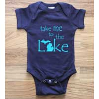 Take Me to the Lake Onesie