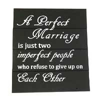 Wedding Inspirational Signs