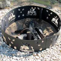 Custom Fire Pit Rings