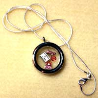 Floating Charm Necklaces