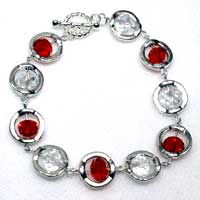 Framed Bead Bracelets