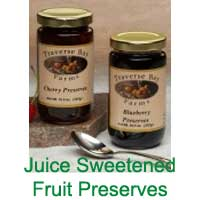 Juice Sweetened Fruit Preserves