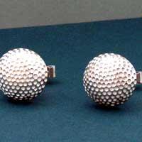 Golf Ball Cuff Links