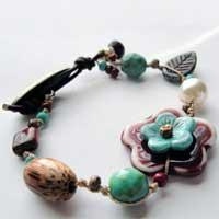 Earthy, Beachy Bracelets