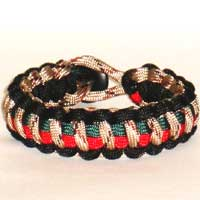 Military Inspired Paracord Bracelet