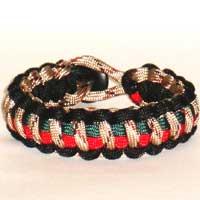 Military Inspired Paracord Bracelet