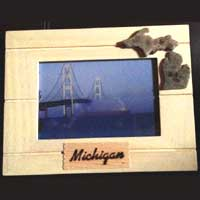 Petoskey Stone Michigan Picture Frame