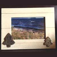 Petoskey Stone Tree Picture Frame