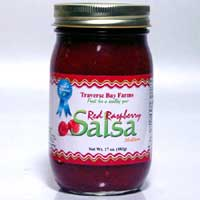 Red Raspberry Salsa