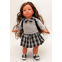 18 inch Annette Doll in School Girl Outfit