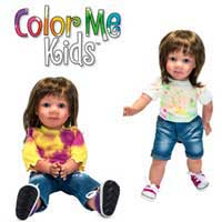 Color Me Kids Carly Doll Kit