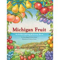 Michigan Fruit Coloring & Activity Book