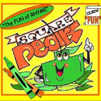 Square Pears The Coloring Book