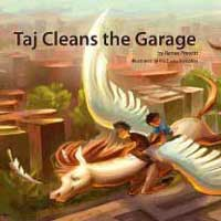 Taj Cleans the Garage