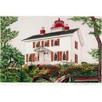 Hand Illustrated Oregon Lighthouse Note Cards
