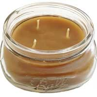 Bee Organic Beeswax Candle 8oz Glass Jar