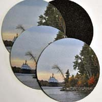 Michigan Photo Coasters