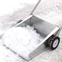 Silver Bear Snow Scoop
