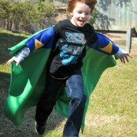 Super Blanky – All in One Super Hero Cape & Blanket