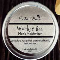 Sister Bees Worker Bee Mens Moisturizer