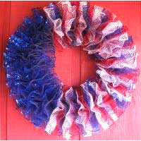 Lighted Wreaths