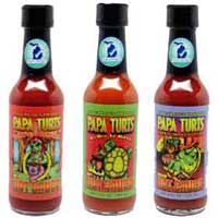 Papa Turts Hot Sauces