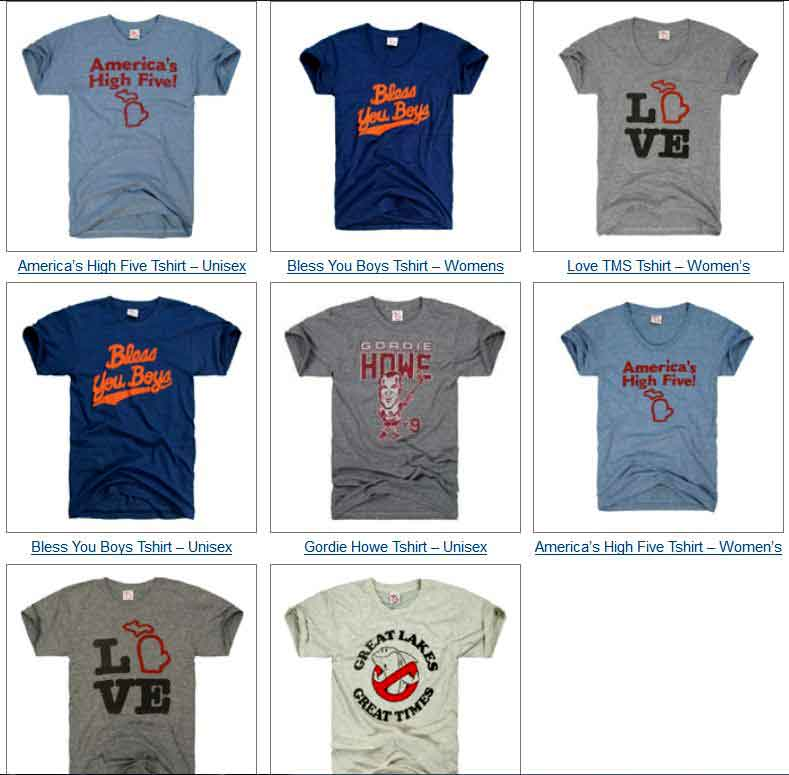 The Mitten State Tshirts