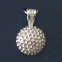 Golf Ball Pendant