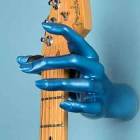 Introducing GuitarGrip Hand Guitar Hangers