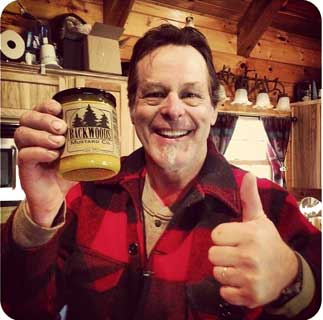 Ted Nugent with Backwoods Mustard