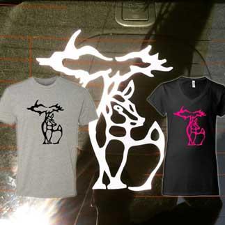 Michigan Deer Designs