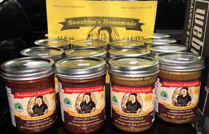 Sunshine's Homemade Sauces